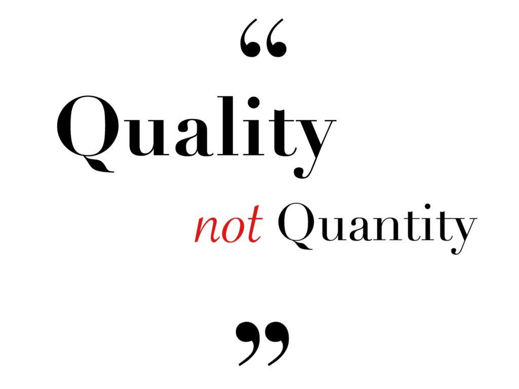 量ではなく質!レンタルをするメリットとその必要性。