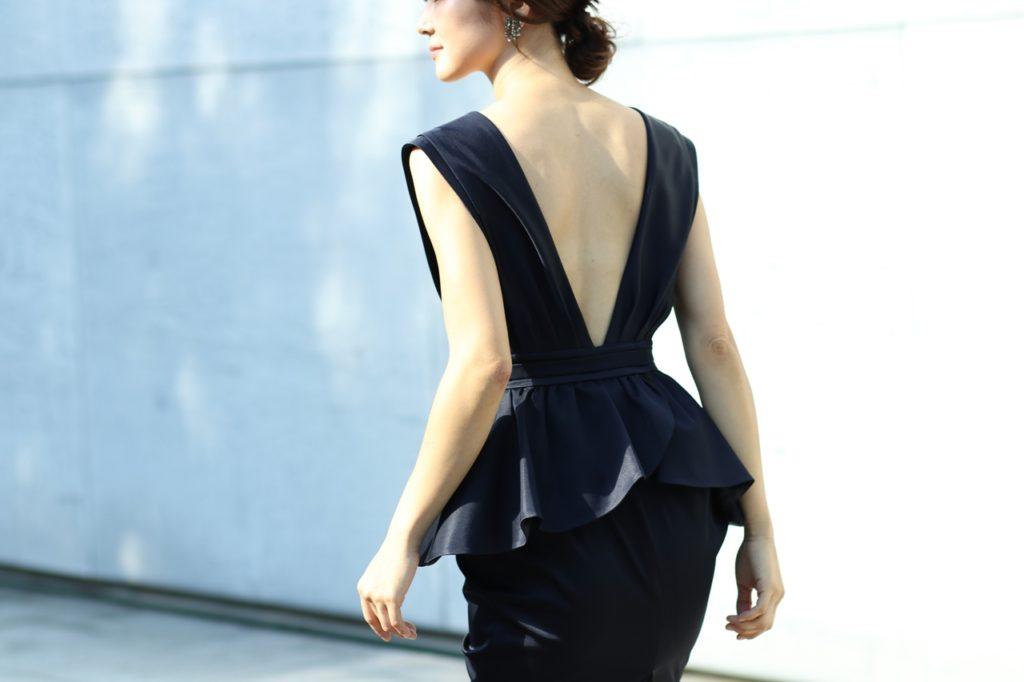 おしゃれで素敵なリトルブラックドレス。