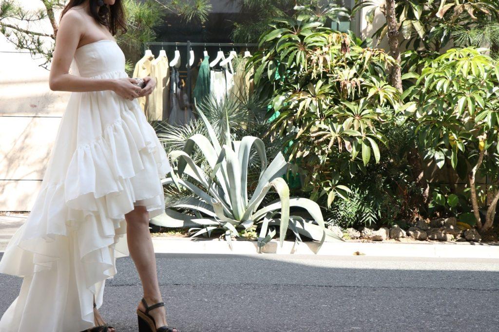 2次会ドレスはおしゃれなHOUGHTON(ホートン)のドレス/Cassidee