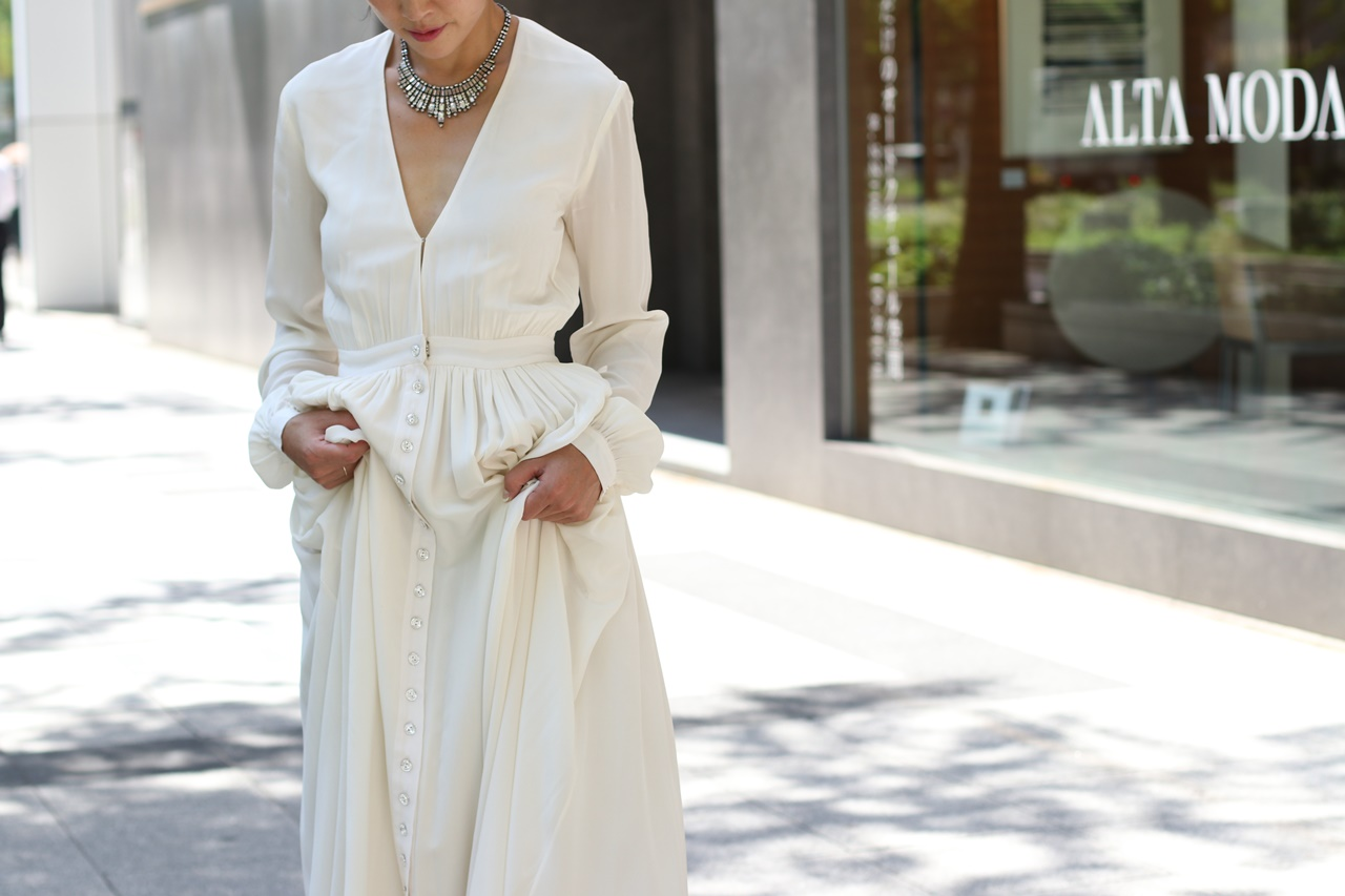 Houghton(ホートン)Galina(ガリナ)結婚式の2次会用ウエディングドレスにおすすめなおしゃれなインポートドレス