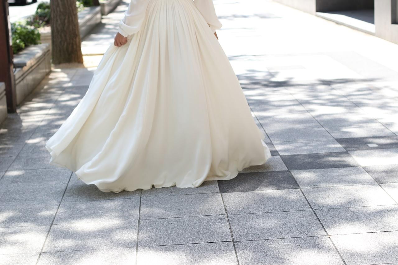結婚式の2次会用ウエディングドレスにおすすめなおしゃれなインポートドレス