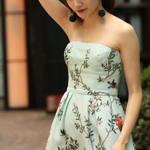 モニーク・ルイリエ(Monique Lhuillier)のドレスの魅力